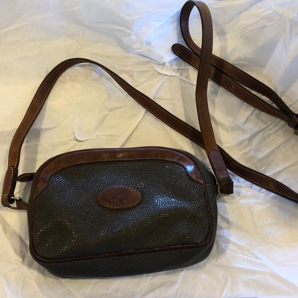 8dca84bb15 Mulberry leather shoulder bag. M 5ac61876331627f7447ace89